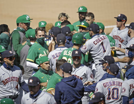 Suspensions likely after bench-clearing MLB brawl