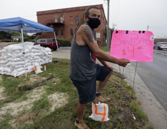 Isaias makes landfall at hurricane strength