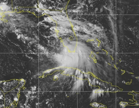 Sally strengthens to Category 2 hurricane