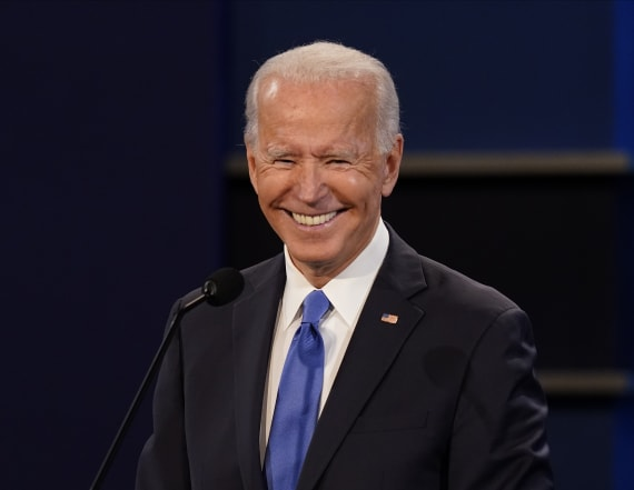 Poll: Biden's lead over Trump grows with a week left