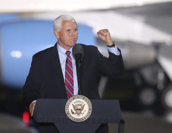 Top Pence aides test positive for Covid-19