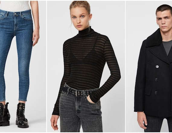 Shop AllSaints outlet for up to 70 percent off