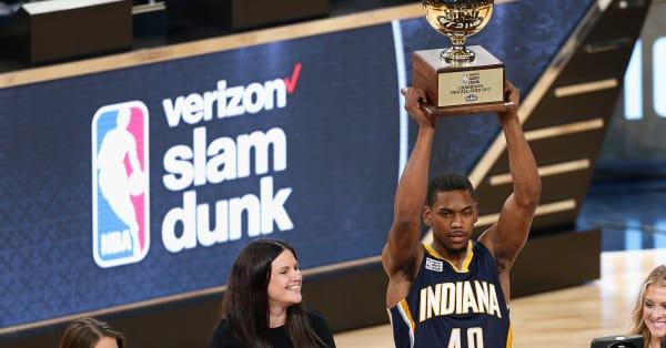 ae9fd3fc25f4 Glenn Robinson III joins storied list of NBA slam dunk champions after  impressive showing - AOL News