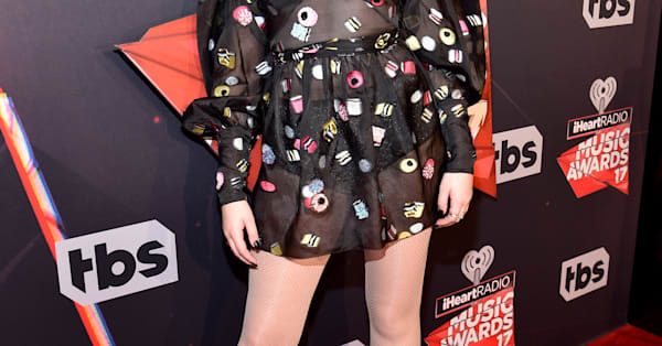 Miley Cyrus's little sister, Noah, wears risque dress to