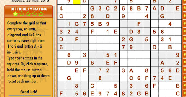 Game Of the Day: Sudoku Mega - AOL Games