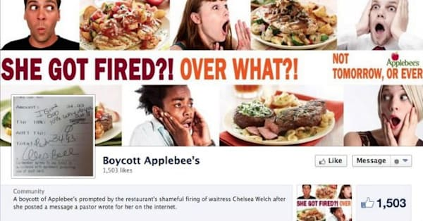 online petitions ask applebee s to rehire waitress chelsea welch