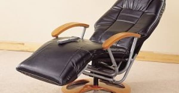 Retro leather massage recliner, $360, Visiondecor Furniture - AOL Finance