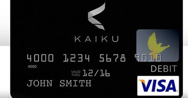 should the already banked consider prepaid debit cards aol finance - Kaiku Visa Prepaid Card