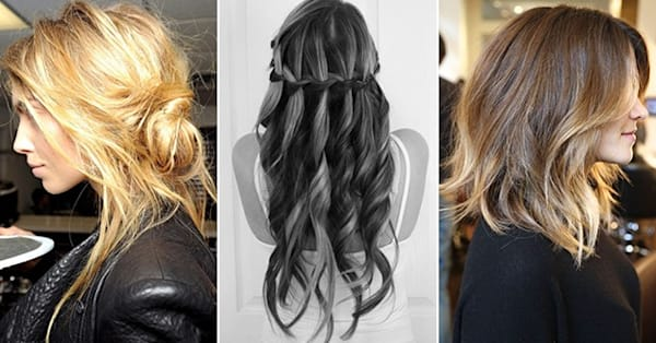 Pinspiration 10 Summer Hairstyles We Love On Pinterest Aol Lifestyle