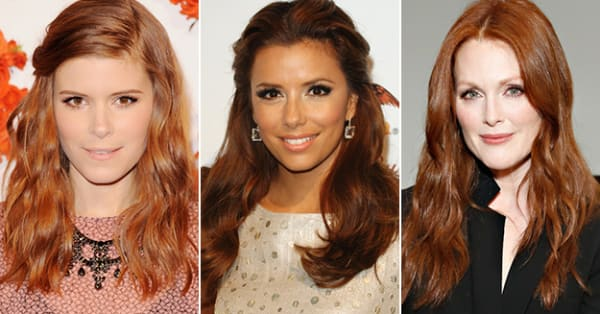 Skin tones for redheads