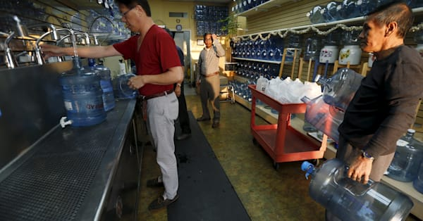Drinking water widely contaminated with 'forever chemicals'