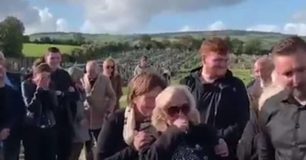 Man plays prank on family at his own funeral