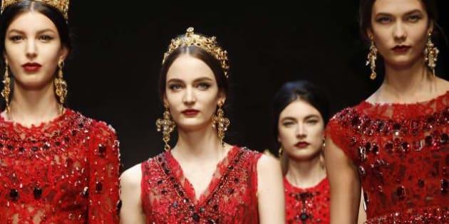 Moda Milano   La donna-regina di Dolce   Gabbana (FOTO)  b1543e25ed1