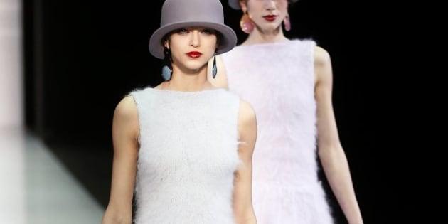Moda Milano   Emporio Armani veste la donna di ombretto (FOTO)  24262259cdeb0