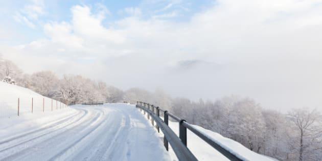 winter in south switzerland