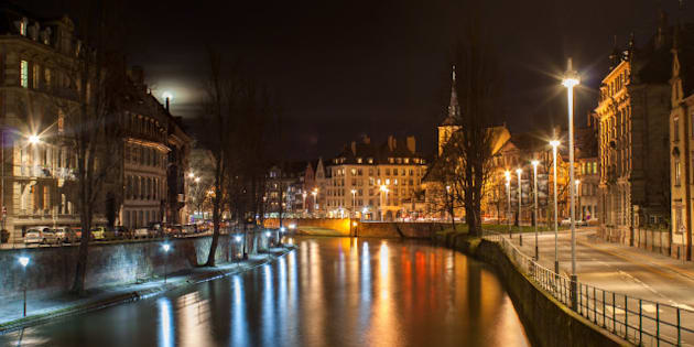 ill river in strasbourg  ...