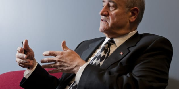 March 4, 2011-Julian Fantino, GTA's newest cabinet minister gives Toronto Star Exclusive interview to Linda Diebel, 100 days into his postition. TORONTO STAR/TANNIS TOOHEY (Photo by Tannis Toohey/Toronto Star via Getty Images)