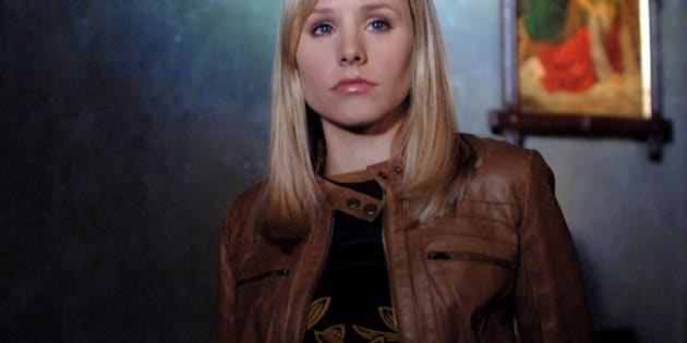 SAN DIEGO - DECEMBER 6:  Veronica (Kristen Bell) in VERONICA MARS on The CW this fall.  (Photo by Ron P. Jaffe/CBS Photo Archive via Getty Images)