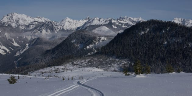 nordic ski area at snoqualmie