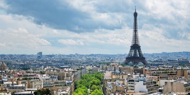 view of eiffel tower from the...