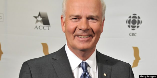 TORONTO, ON - AUGUST 30:  Peter Mansbridge attends the 26th Annual Gemini Awards - Industry Gala at the Metro Toronto Convention Centre on August 30, 2011 in Toronto, Canada.  (Photo by George Pimentel/WireImage)