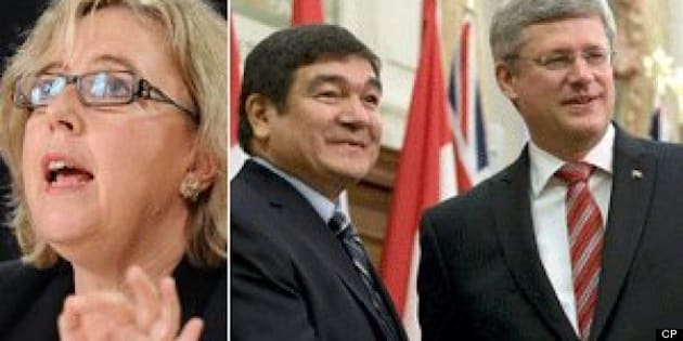 Labrador Byelection: Elizabeth May Wonders If Harper Violated Conflict Of Interest Act For Penashue