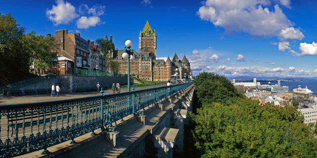 Terrasse Dufferin, Chateau Frontenac, Quebec City,
