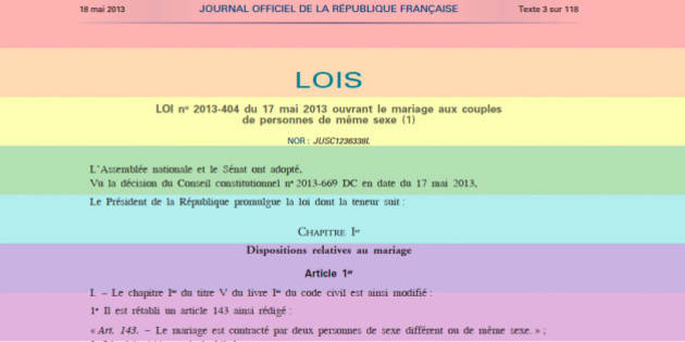 Mariage homosexuel Wikipdia