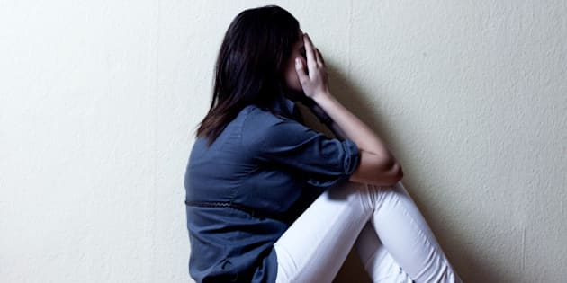 depressed teenage girl cover...
