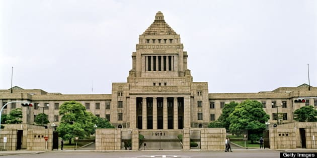 Diet Government Building, Tokyo, Japan. (Photo by Independent Picture Service/UIG via Getty Images)