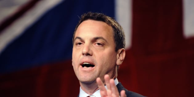JUNE 27, 2009 - Tim Hudak speaks after he wins the PC Party of Ontario leadership this afternoon. (Photo by Tony Bock/Toronto Star via Getty Images)