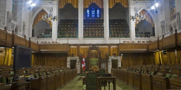 House of Commons, Canadian Parliament, Parliament Hill, Ottawa, Canada