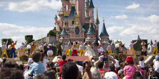 Disneyland Paris, Ile-de-France, France, Europe