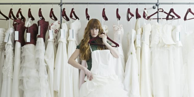 How To Buy A Wedding Dress Without Wanting To Kill Yourself
