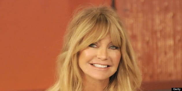 KATIE - 2/1/13 - Goldie Hawn explains how to de-stress your life on KATIE, airing FRIDAY, FEB. 1st, distributed by Disney-ABC Domestic Television. (Photo by Donna Svennevik/Disney-ABC via Getty Images) GOLDIE HAWN