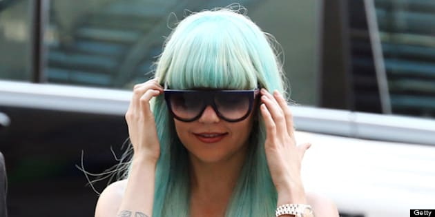 NEW YORK, NY - JULY 09:  Amanda Bynes attends an appearance at Manhattan Criminal Court on July 9, 2013 in New York City. Bynes is facing charges of reckless endangerment, tampering with evidence and criminal possession of marijuana in relation to her arrest on May 23, 2013.  (Photo by Neilson Barnard/Getty Images)