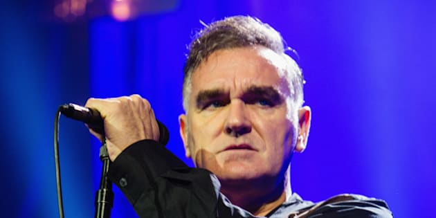 SEATTLE, WA - MARCH 06:  Morrissey performs at The Moore Theater on March 6, 2013 in Seattle, Washington.  (Photo by Mat Hayward/FilmMagic)