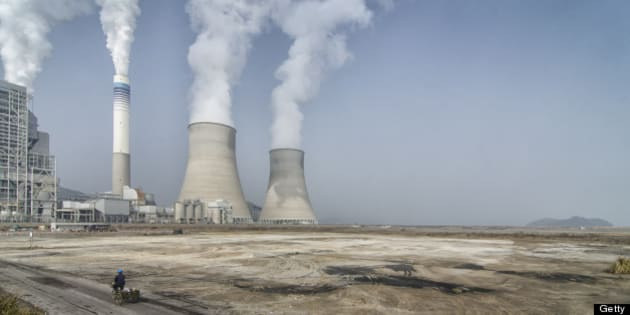 [UNVERIFIED CONTENT] The nuclear power plant near Ninghai, China.