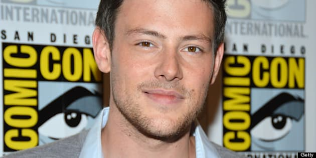 SAN DIEGO, CA - JULY 14: Cory Monteith attends the 'GLEE' Press Room during Comic-Con International 2012 held at the Hilton San Diego Bayfront Hotel on July 14, 2012 in San Diego, California.  (Photo by Frazer Harrison/Getty Images)