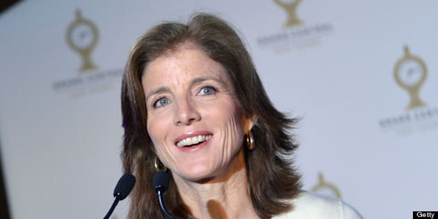 NEW YORK, NY - FEBRUARY 01:  Caroline Kennedy attends Grand Central Terminal 100th Anniversary Celebration at Grand Central Terminal on February 1, 2013 in New York City.  (Photo by Slaven Vlasic/Getty Images)