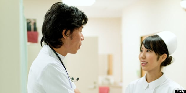 doctor and nurse in Tokyo City