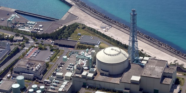 TSURUGA, JAPAN - MAY 15:  (CHINA OUT, SOUTH KOREA OUT) In this aerial image, the Monju prototype fast-breeder reactor is seen on May 15, 2013 in Tsuruga, Fukui, Japan. Japan's nuclear watchdog will indefinitely suspend the use of the reactor over the operator Japan Atomic Energy Agency's disregard for safety that continued even after the Fukushima nuclear crisis raised concerns across the nation.  (Photo by The Asahi Shimbun via Getty Images)