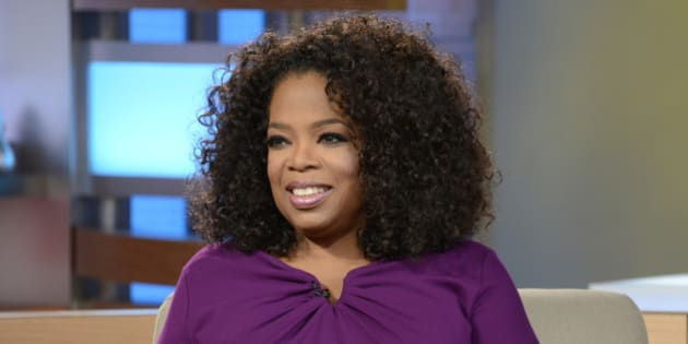 GOOD MORNING AMERICA - Oprah Winfrey visits GOOD MORNING AMERICA, 8/6/13, airing on the ABC Television Network.   (Photo by Ida Mae Astute/ABC via Getty Images) OPRAH WINFREY