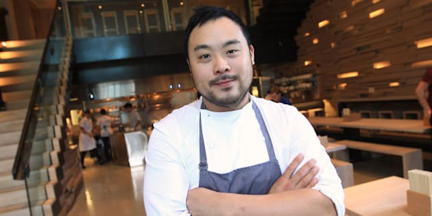 Momofuku the creation of superstar chef David Chang brings his food to Toronto. The much anticipated resto is famous for noodles and pork buns. (Photo by Rene Johnston/Toronto Star via Getty Images)