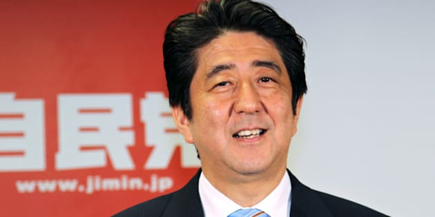 Shinzo Abe, Japan's prime minister and president of the Liberal Democratic Party (LDP), attends a news conference following a victory in the upper house elections at the LDP headquarters in Tokyo, Japan, on Monday, July 22, 2013. Abe's ruling coalition faces the challenge of maintaining unity and public support after cementing control of both houses of parliament on a platform of economic revival. Photographer: Koichi Kamoshida/Bloomberg via Getty Images