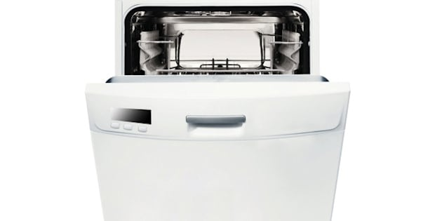 modern  dishwasher isolated