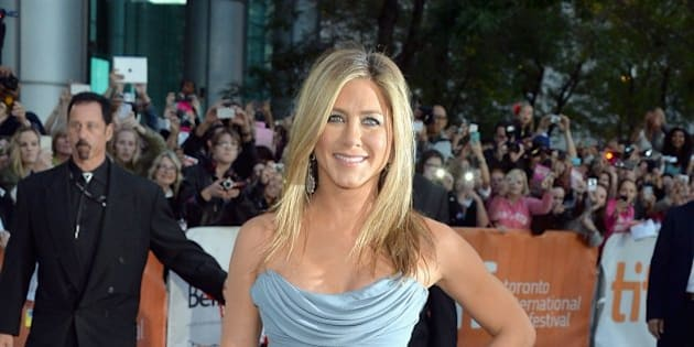 TORONTO, ON - SEPTEMBER 14:  Actress/producer Jennifer Aniston arrives at the 'Life Of Crime' Premiere during the 2013 Toronto International Film Festival at Roy Thomson Hall on September 14, 2013 in Toronto, Canada.  (Photo by George Pimentel/WireImage)