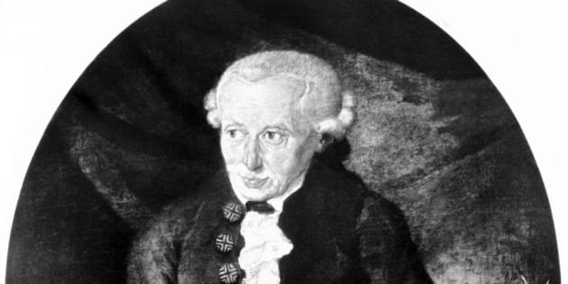 UNITED KINGDOM - JULY 02:  Immanuel Kant (1724-1804) became professor of logic and metaphysics at the university of Konigsberg, Prussia in 1770. Kant published a variety of articles on the natural sciences, geophysics and astronomy. In ?Allgemeine Naturgesichte und Theorie des Himmels? of 1755 he successfully predicted the existence of Uranus 26 years before William Herschel officially discovered the planet. In later life Kant wrote a number of philosophical texts- ?Critique of Pure Reason? (1781), ?Critique of Practical Reason? (1788) and ?Critique of Judgment? (1790). Highly influential, these writings have been said to inspire the work of Hegel, Schelling and Fichte.  (Photo by SSPL/Getty Images)
