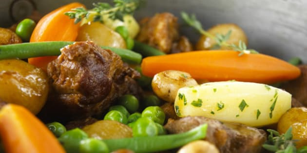 substantial  traditional comfort slow cooked one pot dish