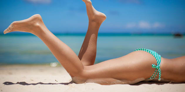 women's beautiful legs on the...